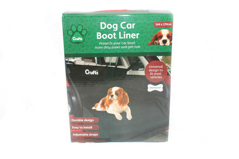 Crufts Dog Car Boot Liner