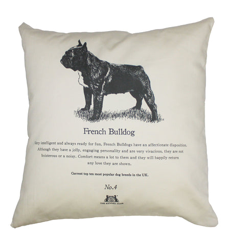 French Bulldog Cushion - Crufts and Kennel Club Gifts