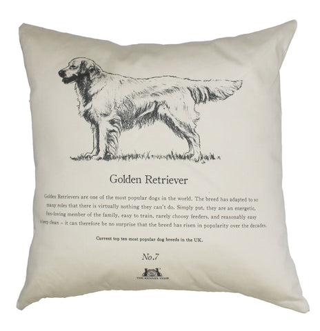 Golden Retriever Cushion - Crufts and Kennel Club Gifts
