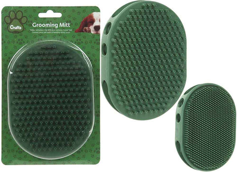 Crufts Rubber Grooming Mitt
