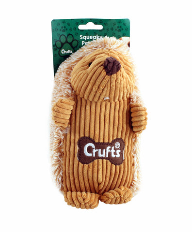 Squeaky Crufts Hedgehog Toy - Crufts and Kennel Club Gifts