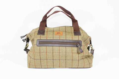 Tweed Holdall Kennel Club Country Front