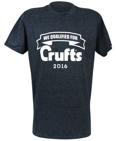 2016 Navy Qualified T-Shirt - Crufts and Kennel Club Gifts