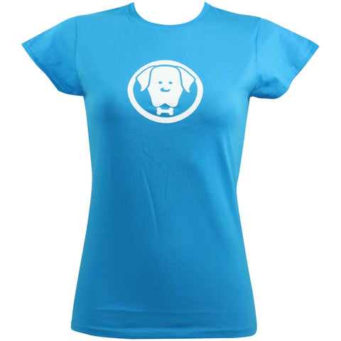 Women's Charlie Blue T-Shirt T-Shirt - Crufts and Kennel Club Gifts