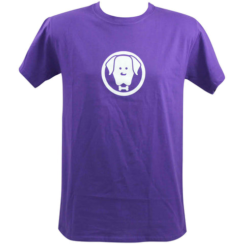 Unisex Charlie Purple T-Shirt - Crufts and Kennel Club Gifts