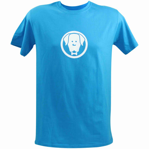 Unisex Charlie Blue T-Shirt - Crufts and Kennel Club Gifts