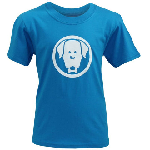 Children's Charlie Blue T-Shirt - Crufts and Kennel Club Gifts