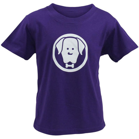 Children's Purple Charlie T-Shirt - Crufts and Kennel Club Gifts