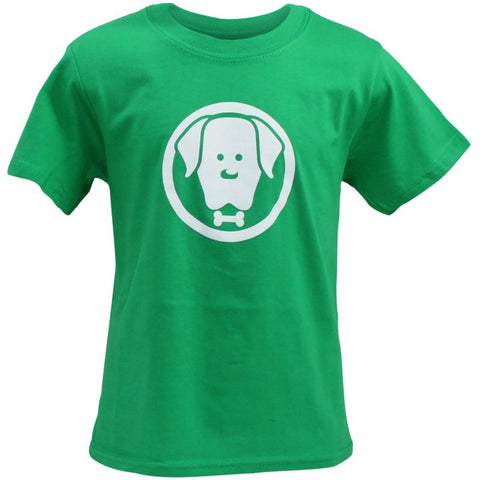 Children's Green Charlie T-Shirt - Crufts and Kennel Club Gifts