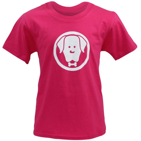 Children's Charlie Pink T-Shirt - Crufts and Kennel Club Gifts