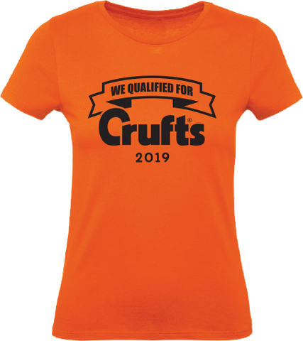 2019 We Qualified For Crufts Ladies T-Shirt