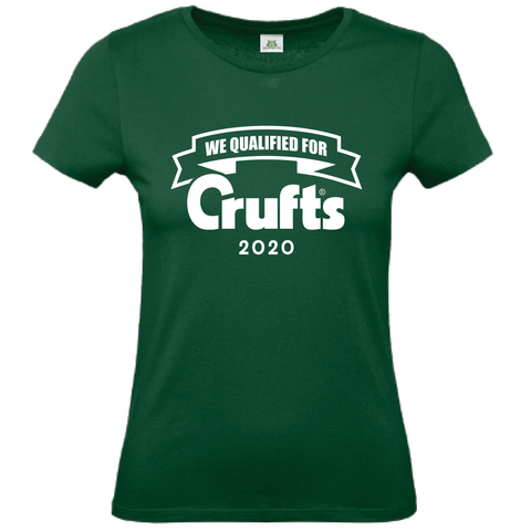 2020 We Qualified For Crufts Ladies T-Shirt