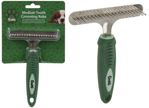 Medium Tooth Grooming Rake