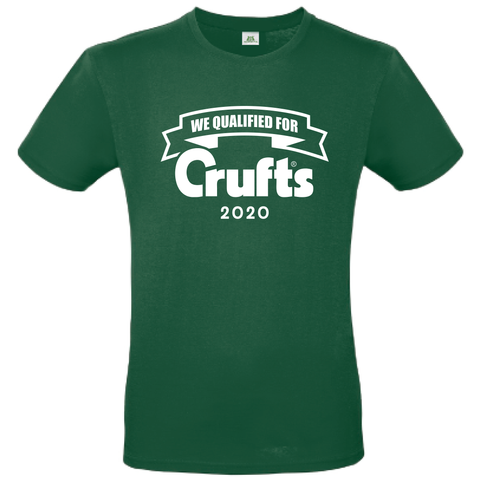 2020 We Qualified For Crufts Unisex T-Shirt