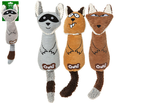 Squeaky Crufts Animal Toy