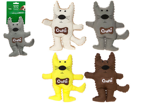 Squeaky Crufts Cat Toy