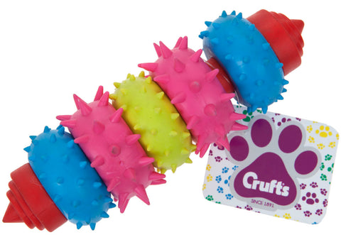 Crufts Swivel Ring Dental Teether Toy