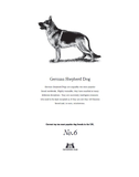 German Shepard Dog Tea Towel Tea Towel - Crufts and Kennel Club Gifts