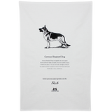 German Shepherd Dog Tea Towel - Crufts and Kennel Club Gifts