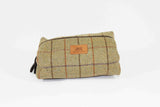 Tweed Wash Bag - Crufts and Kennel Club Gifts