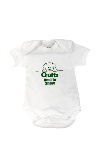 New Crufts Baby Grow