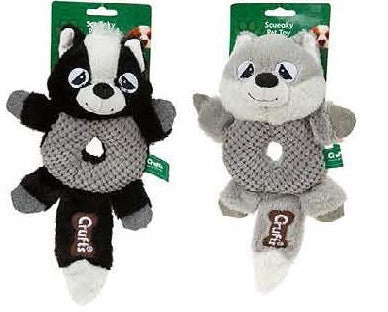 Squeaky Crufts Skunk Toy