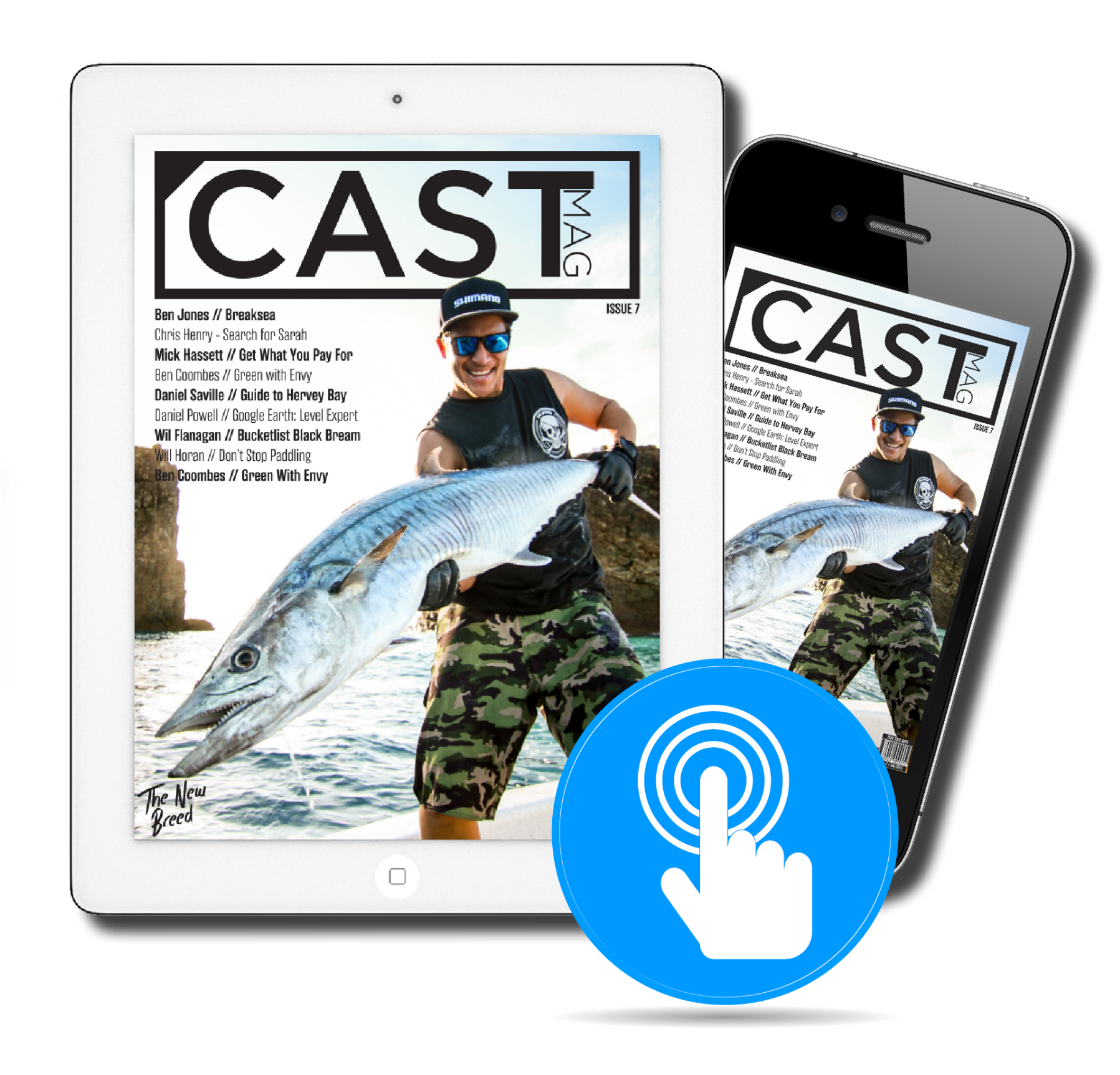 Cast Magazine - Yearly Subscription (Online Magazine Issues 14-17)