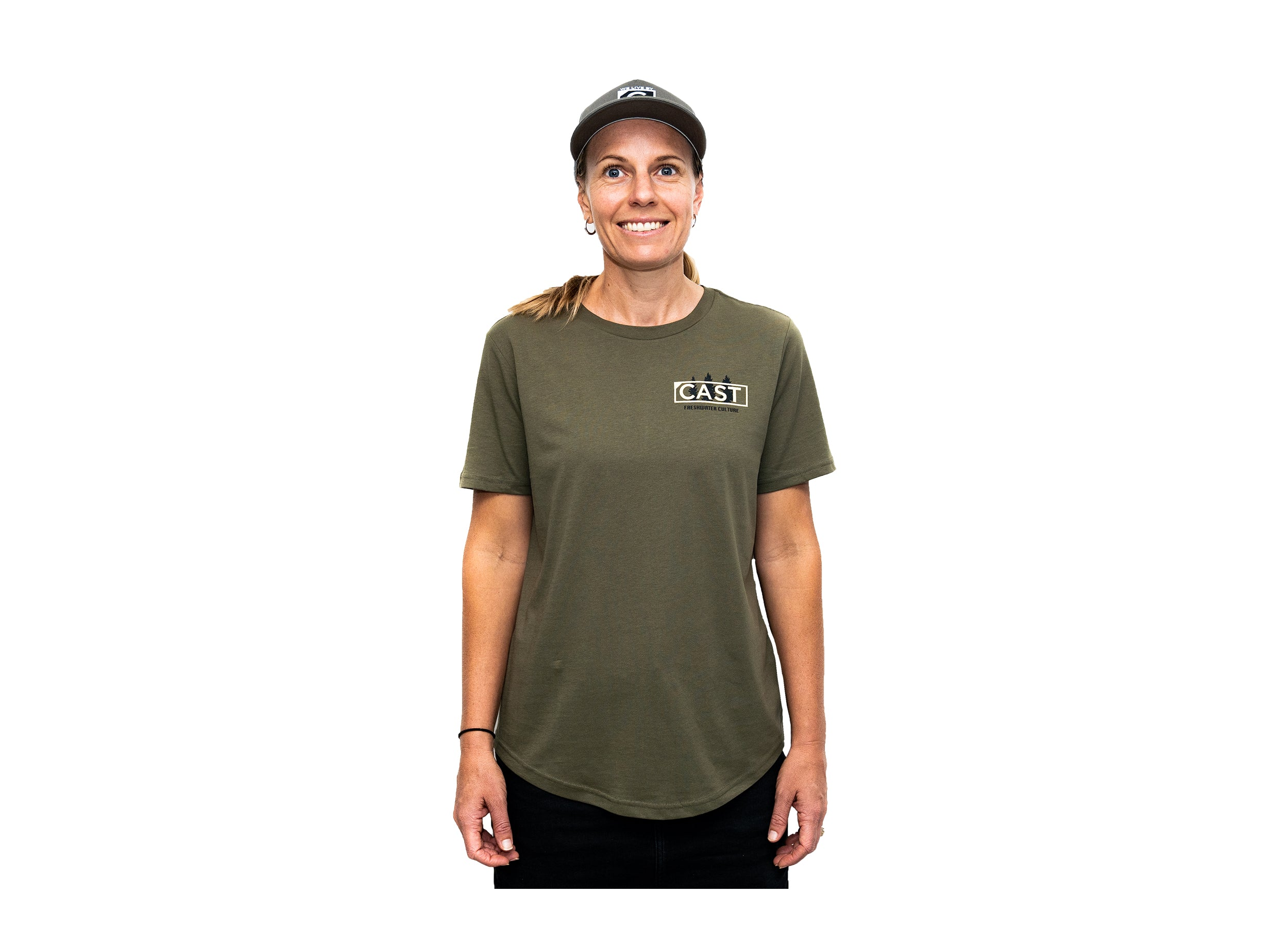 Cast Mag Co Women's Cotton Tee - Freshwater Culture
