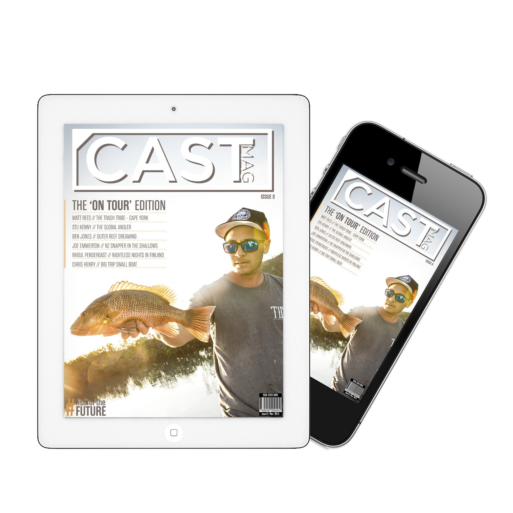 Cast Magazine - Yearly Subscription (Online Magazine Issues 18-21)