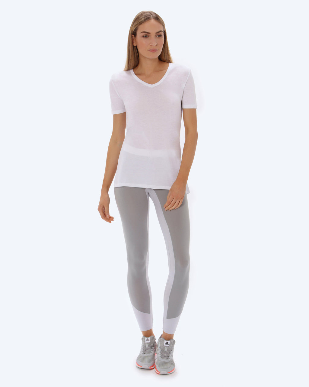 Lene Loose Neck T-shirt - White - Vaara