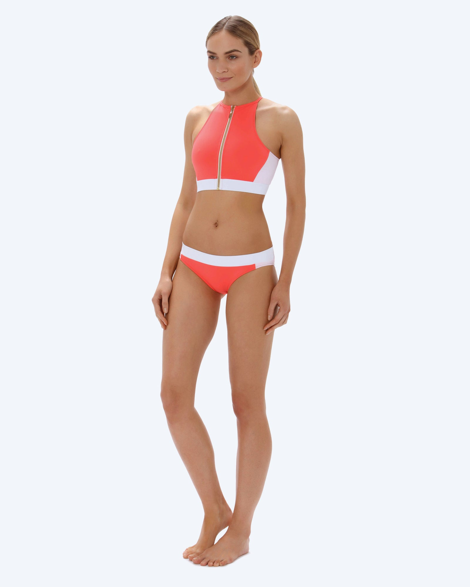 Mia Swim Set - Coral