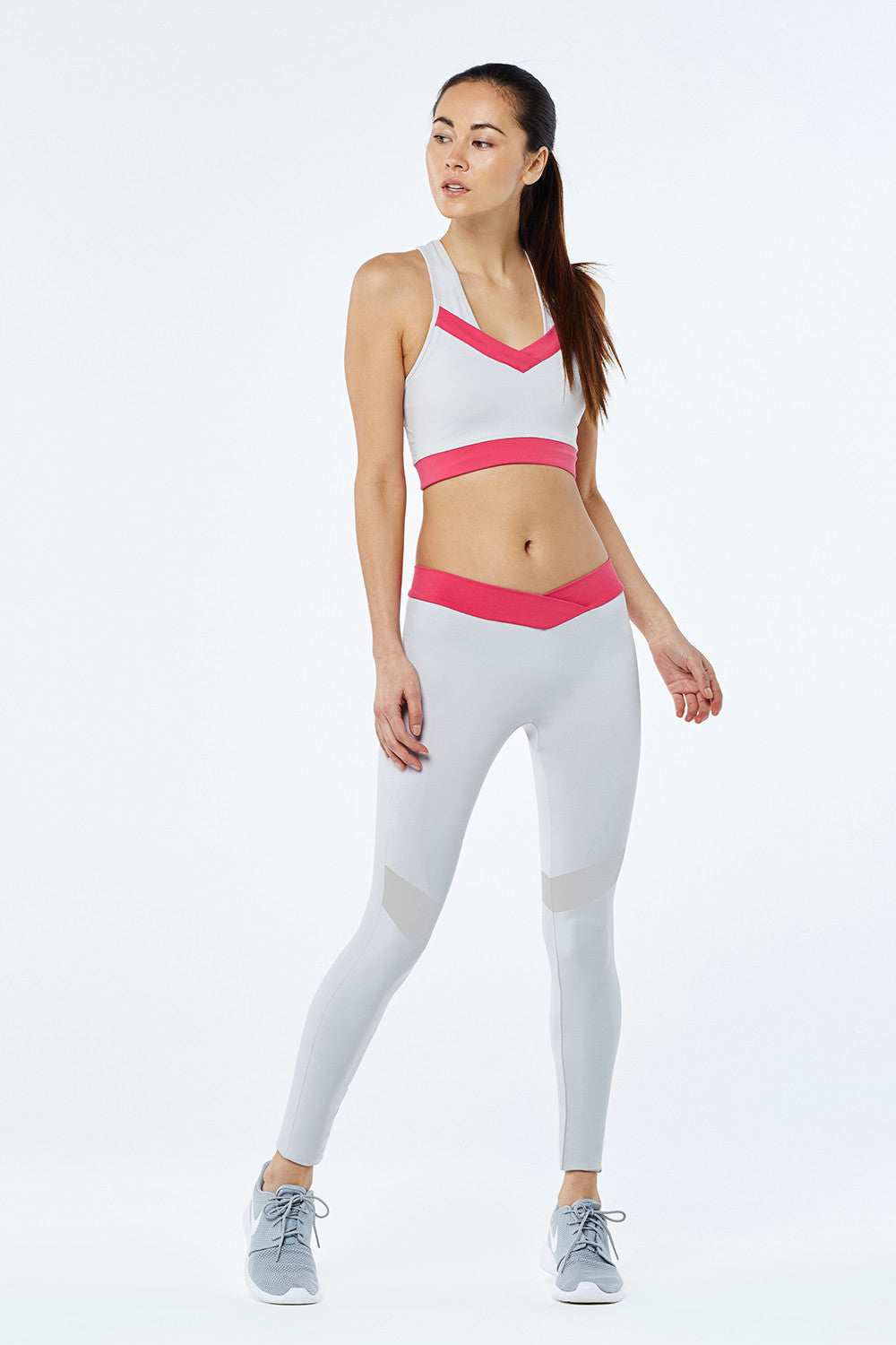Performance Sports Legging - Grey - Vaara
