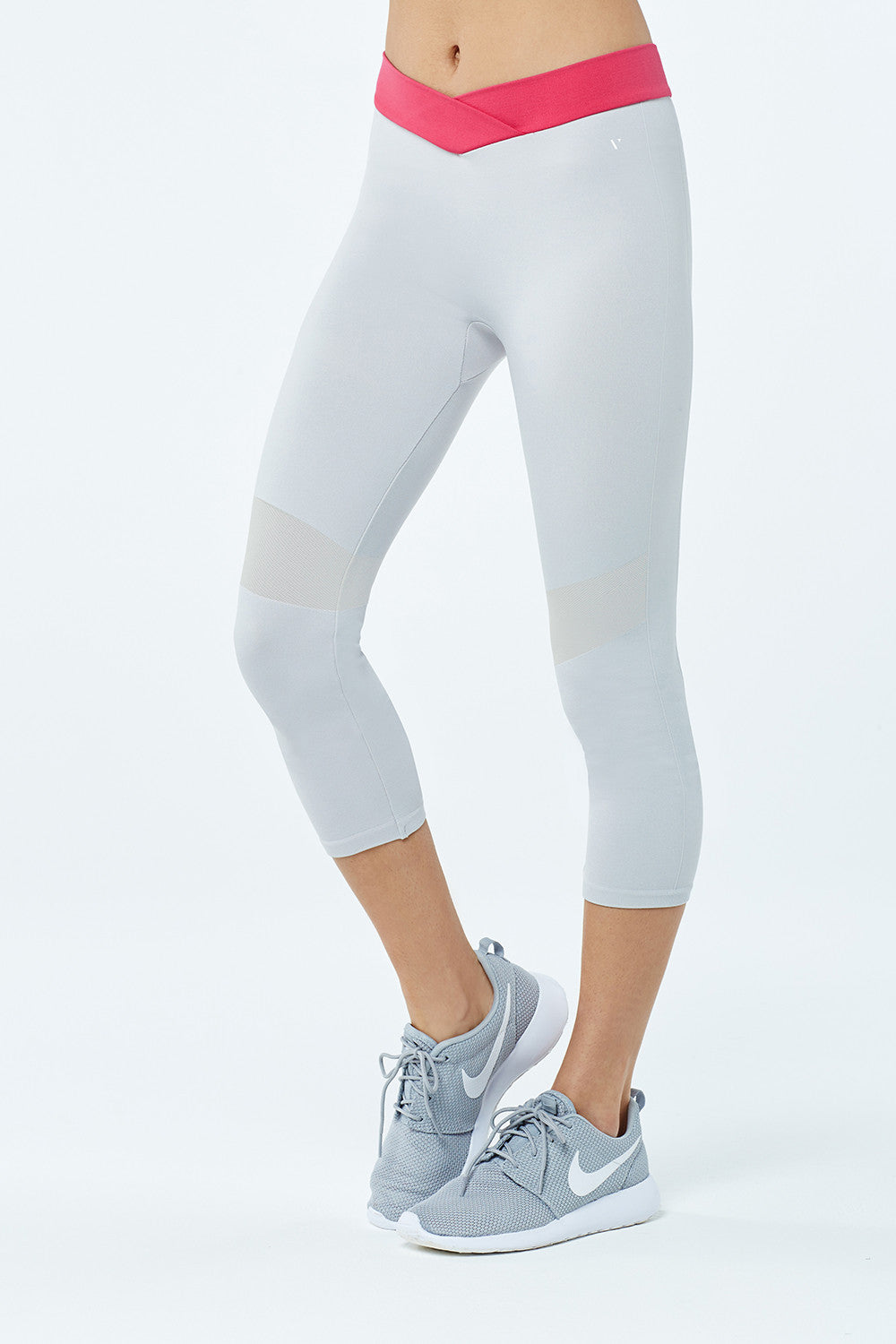 Capri Sports Legging - Grey - Vaara
