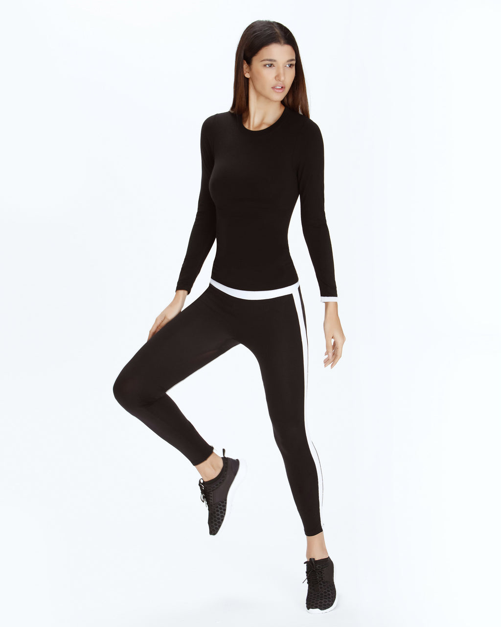 Seamless Cashmere Base Layer - Black