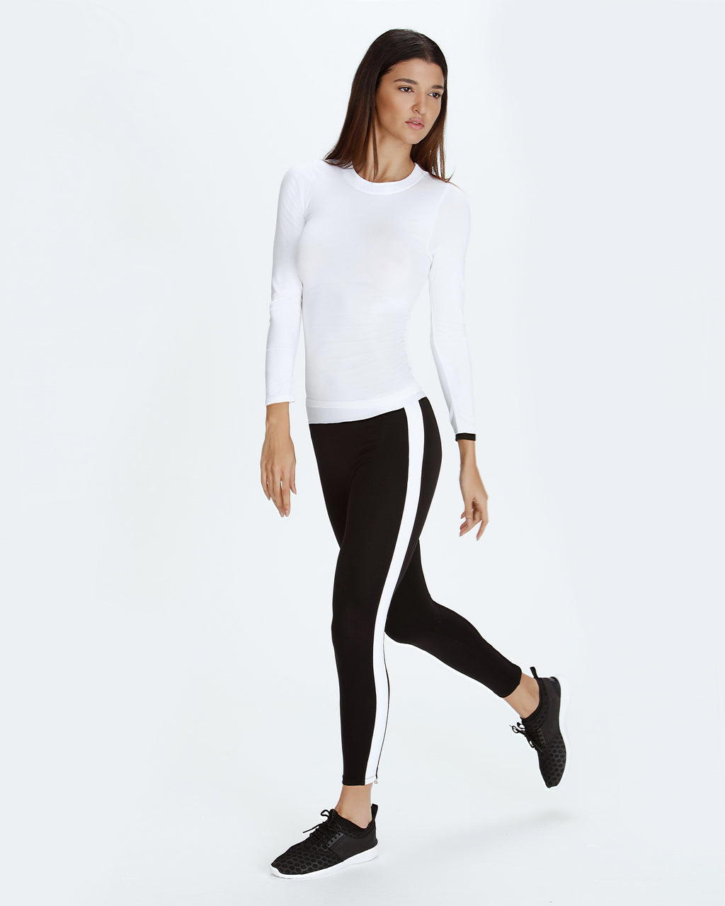 Seamless Cashmere Base Layer - White