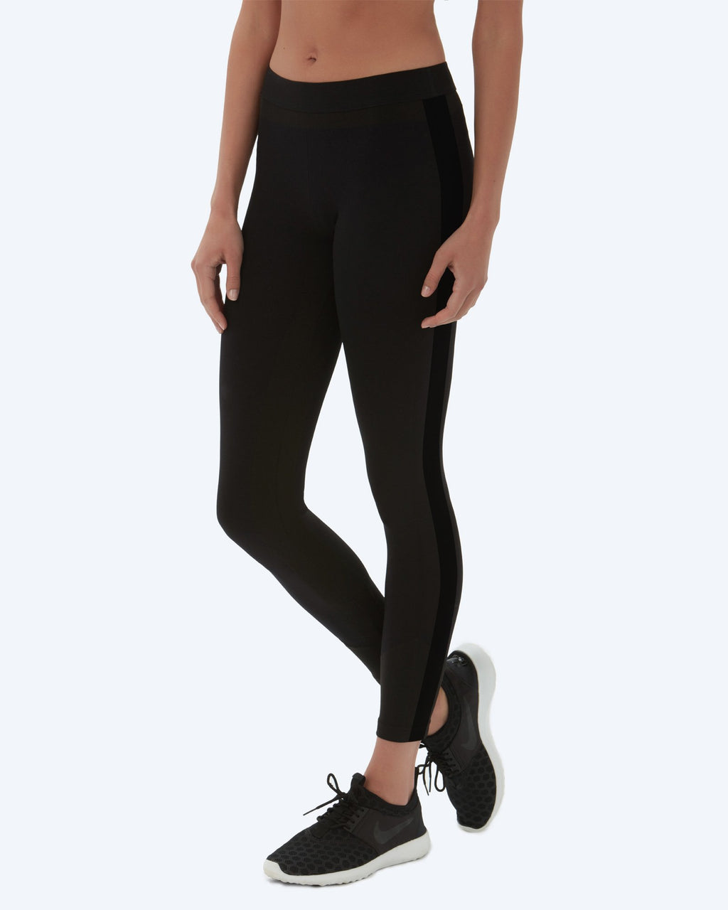 Alexis Fashion Legging - Black - Vaara