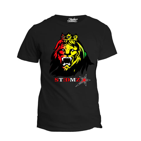 Rasta Lion Face