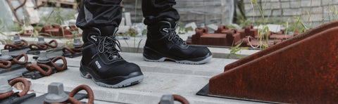 Boost Your Agility With The Reaction Wellmax Safety Boot. Supreme Comfort + All-Round Protection + With Compressive Energy & Super Lightweight.