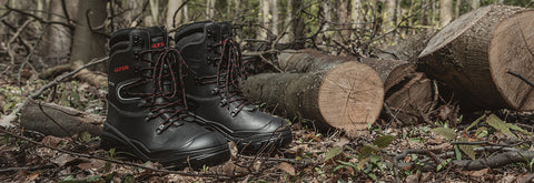 Work With Chainsaws? Stay Protected With The Arborist Forestry Safety Boot. With A Steel Midsole, Steel Toe Cap & Strategic Padding For Extra Comfort.