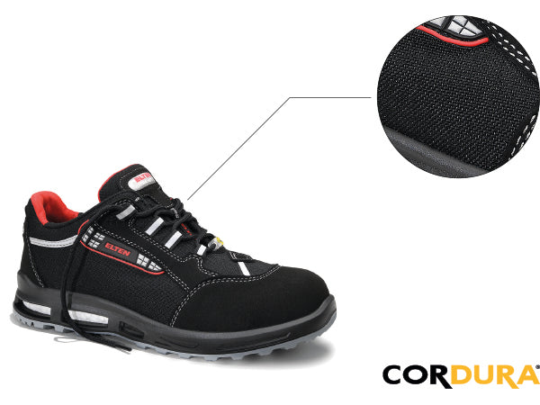 cordura + resistant material + durability + safety shoes and work boots + quality + elten + stitchkraft