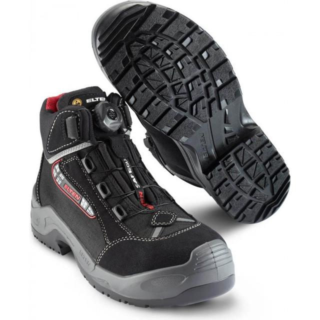 Walk-On-Air With This Runner Style Safety Boot. Tough Shell. Comfortable Inside. Very Light. Boa Fit System Closes With One Turn.