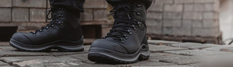 The Military Grade Safety Boot That Takes Your Feet The Extra Mile + LOWA Work Boot + Steel toe cap + Water-Proof GORE-TEX® membrane