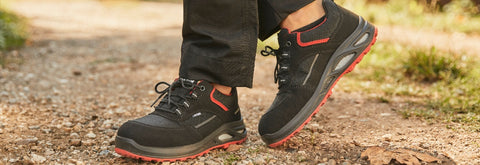 The Safety Shoes Ladies Have Been Waiting For! A Trendy Work Boot Made For Women's Feet | Steel toe cap | Walk On Air With WELLMAXX Insole | 1 YEAR PRODUCT WARRANTY | Made In Germany
