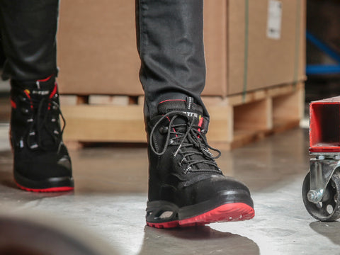 Comfortable Safety Boots For Women. Premium Quality, Great Designs. Made in Germany.