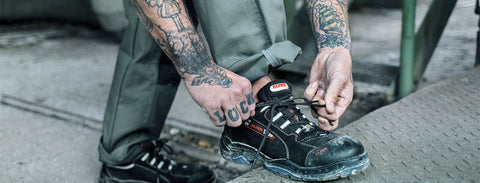 Minimize Strain & Maximize Comfort with the Ultimate Safety Shoe Senex. It's 100% Waterproof with a Composite Toe Cap + Super Durable Materials.
