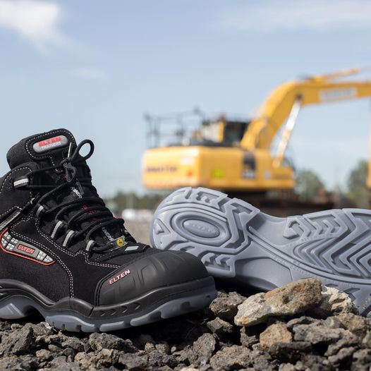 Sander Pro Work Boot │Comfortable Insole │ Tough Jobs & Terrains  │Advanced Cushioning │100% Waterproof │ Light & Robust Upper │Safety Cap