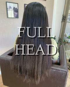 Russian Virgin Hair Extensions- Full Head Tapes