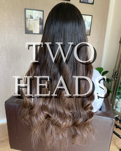 Turkish Hair- Two Heads Nano Beads