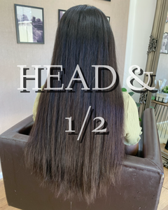 Russian Virgin Hair Extensions- Full Head & Half Keratin Bonds