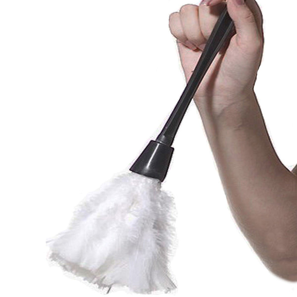french maid feather duster fancy dress costume